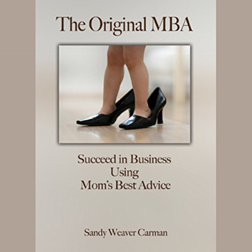 The Original MBA audiobook cover art