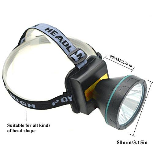 Ambertech 2 Rechargeable Torche Super Brillant Lampe avec XM-L T6 LED tête Meilleure lumière pour Les Sports de Plein air ou des travaux ménagers Baby-Girls, 2, 2