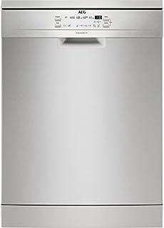 AEG FFB52600ZM lavavajilla Independiente 13 cubiertos A++ - Lavavajillas (Independiente, Acero inoxidable, Tamaño completo (60 cm), Acero inoxidable, Botones, LED)