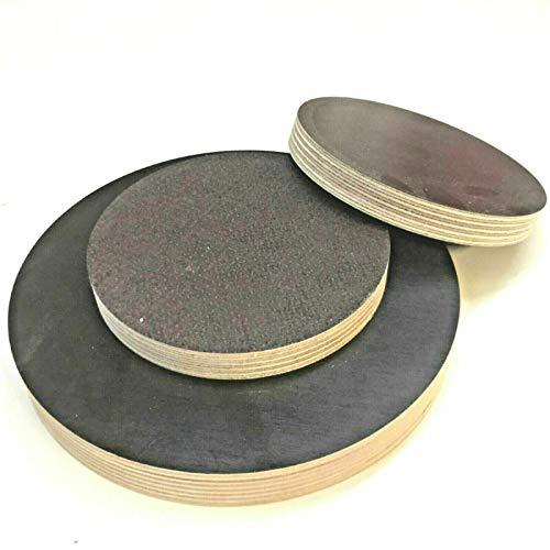 Siebdruckplatte Runde Holzscheibe Holz Rund Birke Scheibe Multiplex Sperrholz (Ø 150mm, Stärke/Dicke: 18mm)