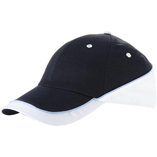 Slazenger - Basecap 'New Edge Cap' Einheitsgröße, Navy/White/Ocean Blue