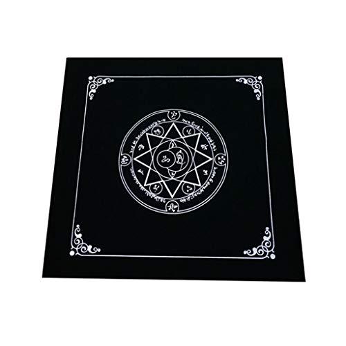 RG-FA Art Tarot Pagan Altar Mantel de franela para adivinación 2