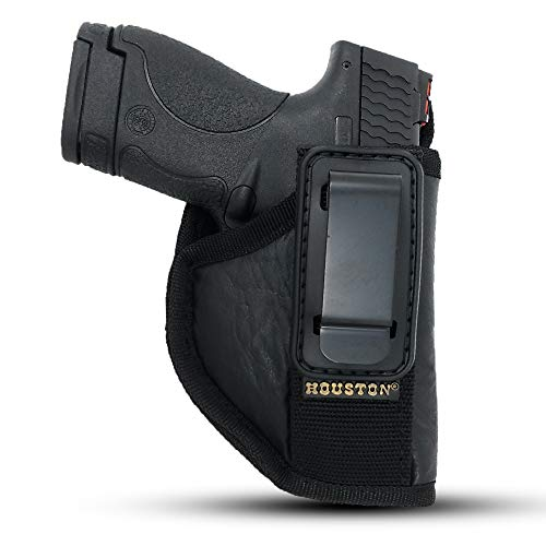 IWB Tuckable Gun Holster by Houston - ECO Leather Concealed...