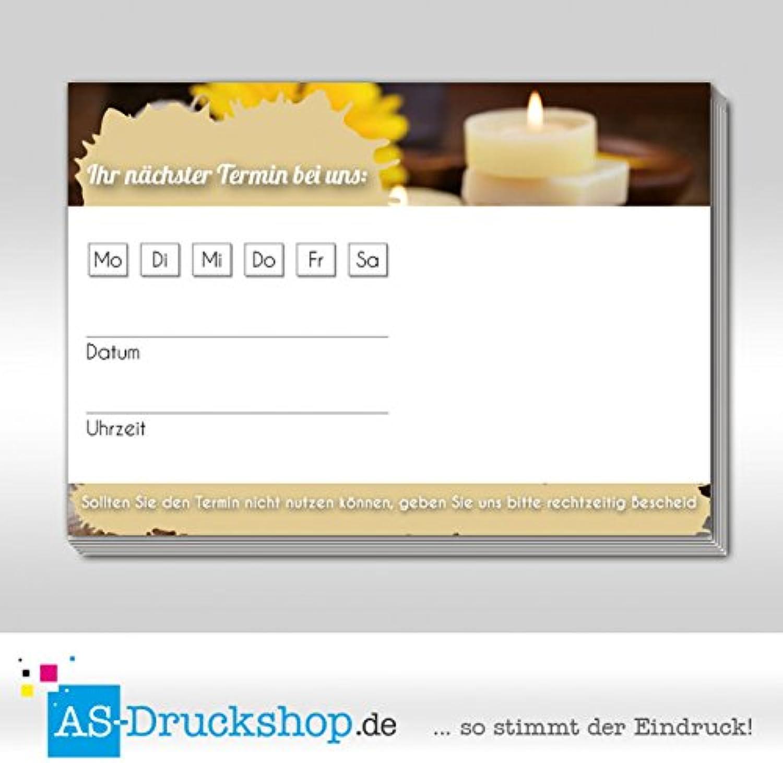 Terminblock Wellness - Nussbraun   DIN A7 Querformat   50 Stück B07B313CBT | Sale Deutschland