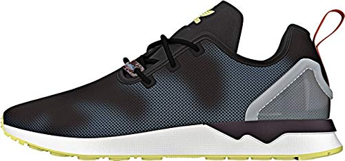 adidas Originals ZX Flux ADV ASYM c Black c Black Blue Glow, Schuhgröße:48_us13.0_uk12.5_cm31.0