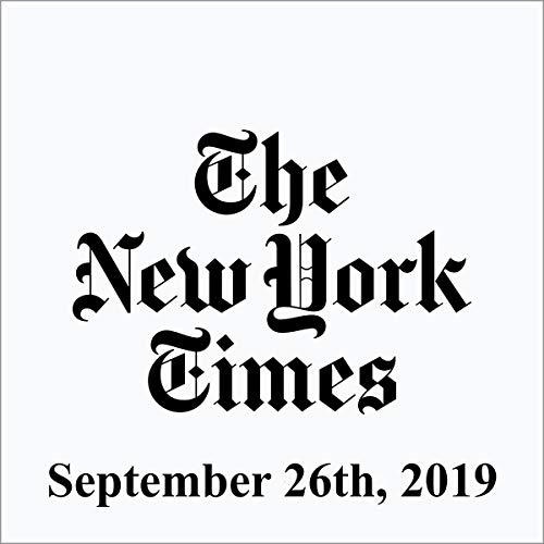September 26, 2019 cover art