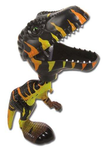 Wild Republic Jouet Velociraptor, Idée Cadeau pour Garçon, Dinosaure Interactif, Pressez la Gâchette pour Fermer la Mâchoire du Dinosaure, Jouet Dinosaure Marron, Chompers, 24 cm