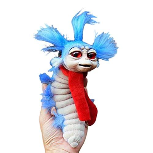 DDHH Cute Worm Plush Toys - 15cm Cute Stuffed Worm Dolls - Movie doll cartoon cute toy worm for Children Birthday Gift Soft Toy