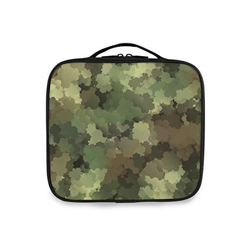 Deziro Trousse de maquillage Motif camouflage