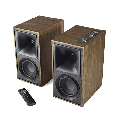 Klipsch The Fives Powered Speaker System with HDMI-ARC in Matte Black