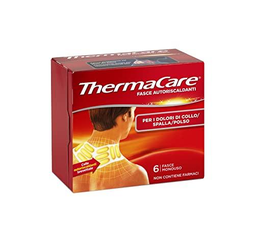 ThermaCare Fasce Autoriscaldanti a Calore Terapeutico per Dolori di Collo, Spalla, Polso, 8 Ore Calore Costante, 6 Fasce Monouso