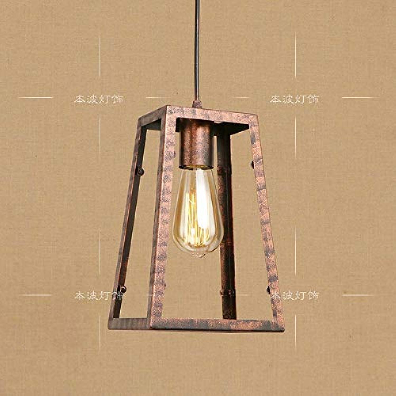 BMY Deckenpendelleuchten Moderne Iron Craft-Kronleuchter, Einfache Eisenkunstzimmer Kinderzimmer Deckenpendelleuchte mit E27 1-Licht, 40W 110-240V (ohne Glühlampen) (Farbe  Stil B)