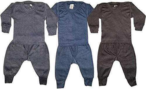 Neelam Boy's and Girl's Woollen Inner and Pyjama Thermal Set...