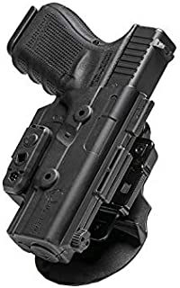OWB Paddle ShapeShift Holster by Alien Gear - Custom Fit to your gun with over 60+ pistols to choose - Adjustable Cant and Retention - right or left hand draw - Conceal or Open Carry - Made in the USA