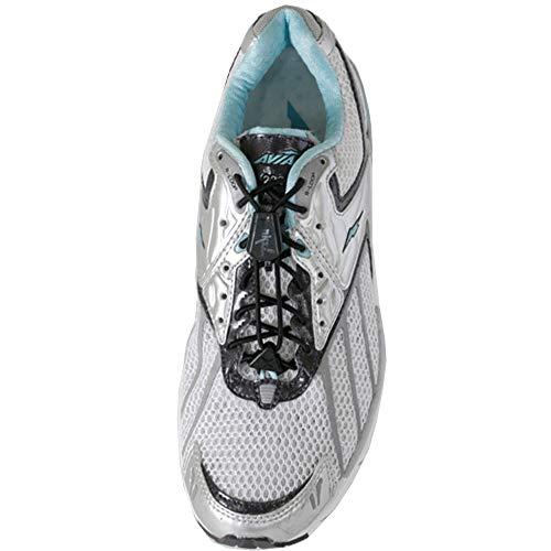YANKZ – Pack de dos juegos de cordones elasticos en negro, autoajustables y con cierre rapido para zapatillas de running, triatlon, trekking, senderismo, padel, tenis y calzado de seguridad.