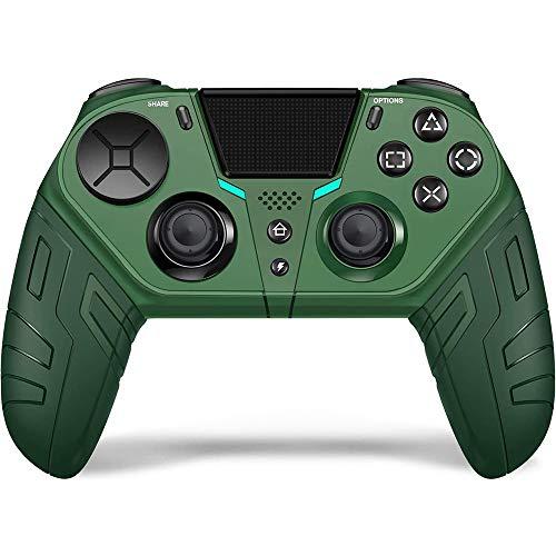 Wireless Game Controller für PS4 Elite/Schlank/Pro Konsole Gebaut-In 6-Achse Gyroskop Vibration Gamepad Joystick mit Programmierbare Zurück Taste