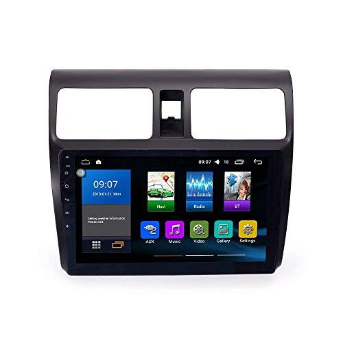 Autoradio Navigatore Per Suzuki Swift 2005-2010 Android 10 Car Stereo Multimedia Player Navigazione GPS IPS 2.5D Touch Screen Supporto per navigatore satellitare Controllo telefono SWC Ricevitore vi