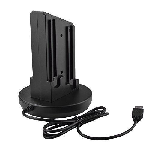 XCSOURCE Joy-con Controlador Cargador Dock Station Cargador de Escritorio con Cable para Nintendo Switch AC761