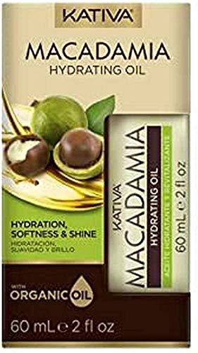 KATIVA Macadamia Hydrating Oil (P9001275), Único, 60 mililitros
