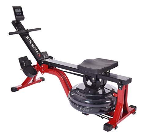 Stamina | X Water Rower, Black/Red