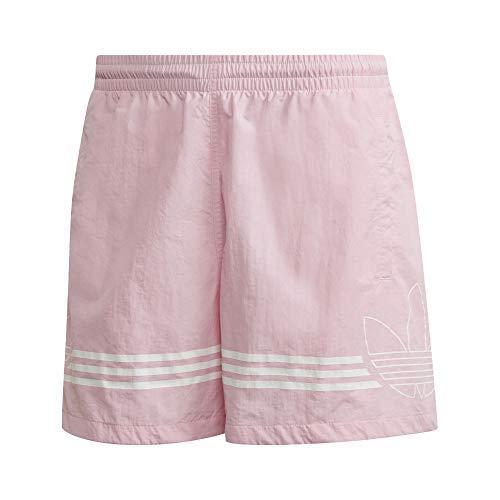adidas Damen SPRT Fb Swim Badeshorts Pink, M