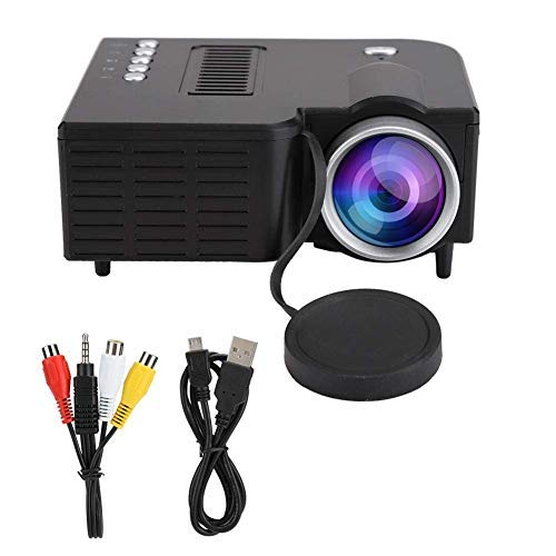 Full HD Portable Projector for LED TV DVD PC Ultra Clear Display USB/HDMI/VGA/Memory SD Card LCD Projector