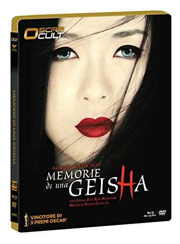 "Memorie Di Una Geisha ""Oscar Cult"" Combo Ltd (Br+Dv) Ocard Numerata + Card Da C"