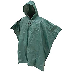 FROGG TOGGS Men's Ultra-Lite2 Waterproof Breathable Poncho, Dark Green, One Size