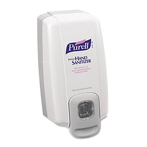 PURELL 212006 NXT Instant Hand Sanitizer Dispenser, 1000mL, 5 1/8w x 4d x 10h, WE/Gray