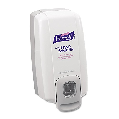 PURELL 212006 NXT Instant Hand Sanitizer Dispenser, 1000mL, 5 1/8w x 4d x 10h, WE/Gray