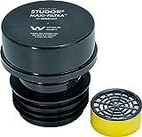 Studor maxi-filtra dos Way filtro de carbón tanque séptico Vent para drenaje olores, Plus filtro de carbón de repuesto