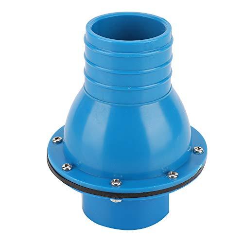 Rückschlagventile für Schwimmbäder Praktisches Zubehör Robustes Rückschlagventil für blauen Pool Rückschlagventil aus Kunststoff für Schwimmbäder