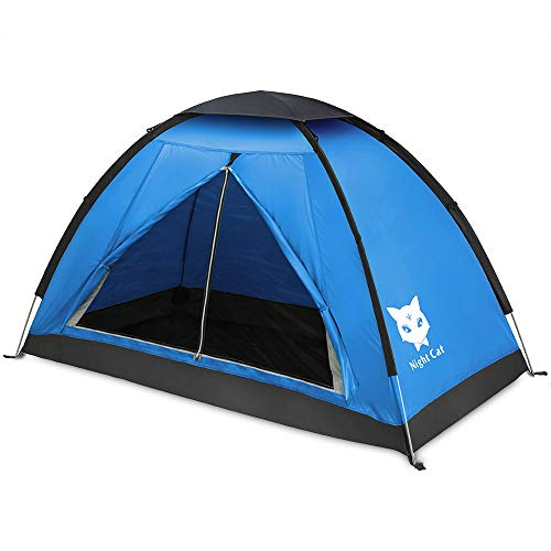 BackPacking Tent Waterproof Lightweight 1 Man Person Easy Set Up Single Layer Tent for Hiking Camping