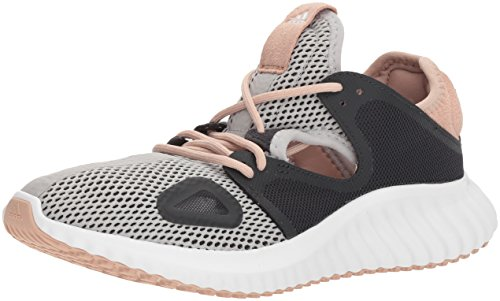 adidas Women's Run Lux Clima Shoe, Grey Two Fabric, Carbon s, ash Pearl s, 6.5 M US