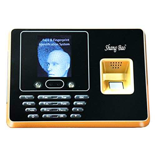 Great Deal! ZJXADS 2.8 inch TFT Screen,Fingerprint Face Recognition attendance Machine, Punch Card M...
