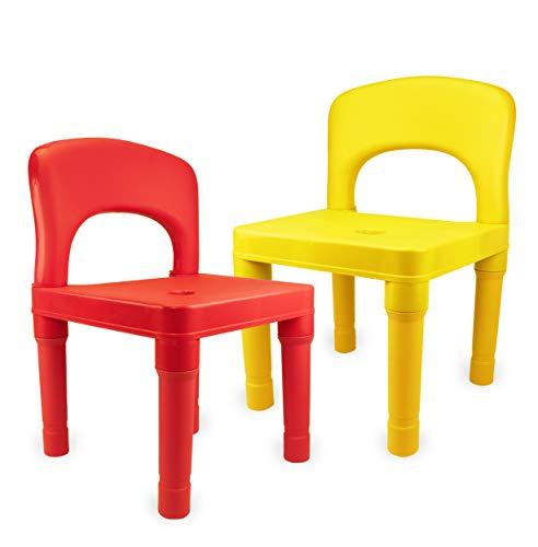 La mejor comparación de Sillas de Plastico para Niños - los más vendidos. 4