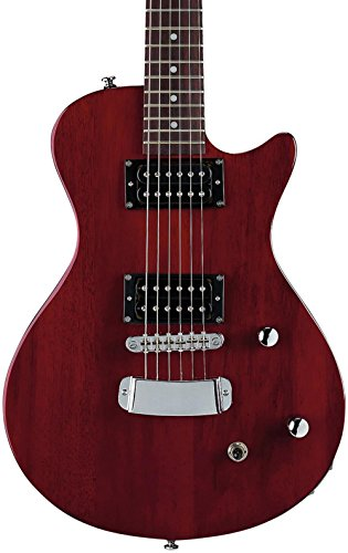 Guitarra eléctrica hagstorm ultra swede esn - wild cherry transparent