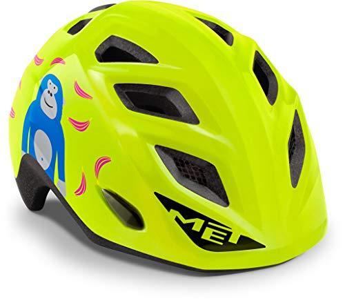 MET Genio 2021 - Casco de bicicleta para niños, color verde