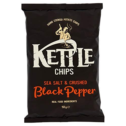 Kettle Chips al Sale Marino e Pepe Nero, 150g