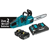 Makita XCU07PT 18V X2 (36V) LXT Lithium-Ion Brushless Cordless (5.0Ah) 14' Chain Saw Kit, Teal