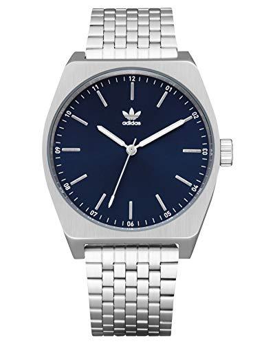 adidas, Z02-2928-00, analoog kwarts smartwatch polshorloge voor heren met roestvrij stalen armband
