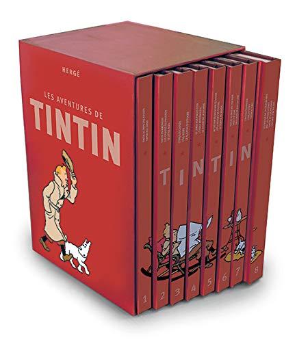 Les Aventures de Tintin, Intégrale : Coffret 8 volumes