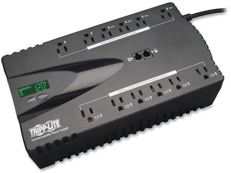 TRPECO850LCD - Tripp Lite UPS 850VA Jacksonville Mall Eco Back Today's only Battery 425W Green