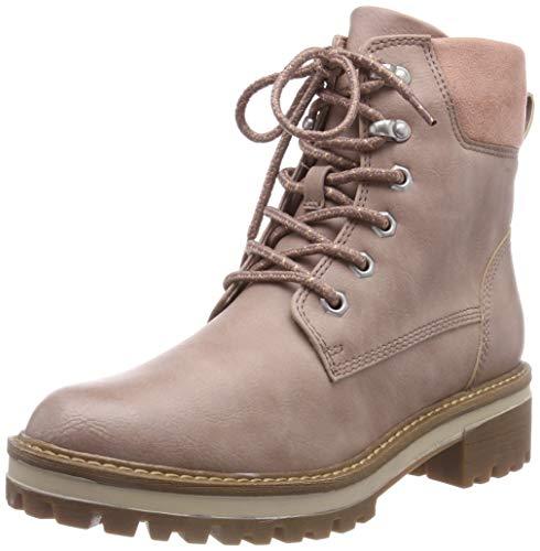Tamaris Damen 26250-21 Combat Boots, Pink (Rose 521), 38 EU