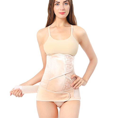 After Birth Belly Band, Postpartum Recovery Girdle Wrap, Post Pregnancy Corset Waist Belt, Support C Section Pelvis Postnatal After Labor Delivery Tummy Stomach Slimming Body Compression