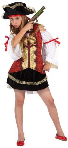 Atosa - 6365 - Costume - Déguisement Fille Pirate Deluxe - Taille 2