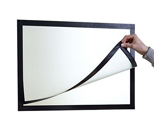 Durable 499501 Info-Rahmen Duraframe Poster (A2 selbstklebender Plakatrahmen mit Magnetverschluss) 1 Stück schwarz