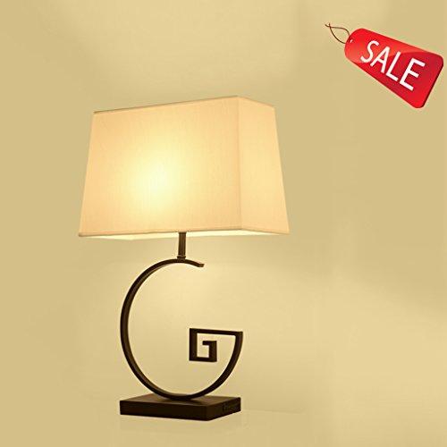 Vintage chambre table de chevet lampe moderne hôtel salon créatif antique fer étude lampe E27