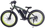 RDJM Bici electrica 1000W 48V 13Ah Bicicleta eléctrica de la Bici de montaña for Hombre 26' Fat Tire E-Bici Camino de la Playa de la Bicicleta/Moto de Nieve con los Frenos de Doble Disco hidráulico