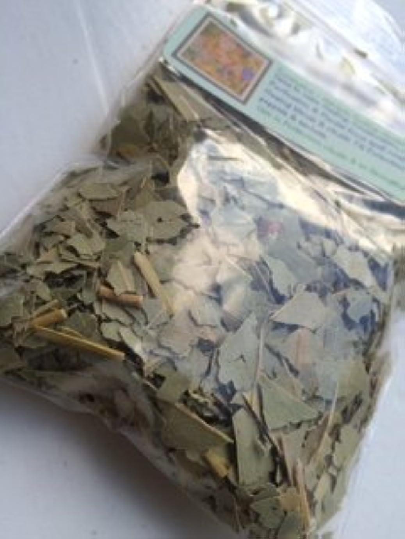 にもかかわらず追放集団的Dried Herb ~ 1?oz ~ユーカリカットリーフ~ Ravenz Roost Dried Herbs with special Info Onラベル